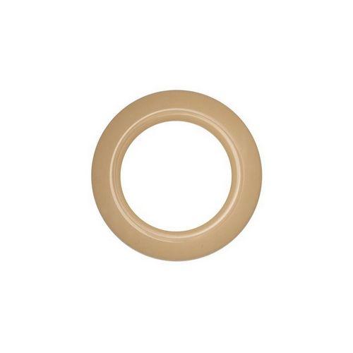 Люверс для штор бежевий, 28 мм, круглий