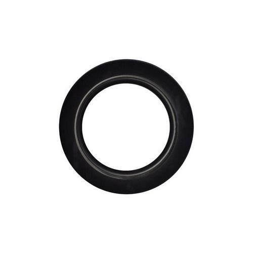 Люверс для штор чорний, 28 мм, круглий