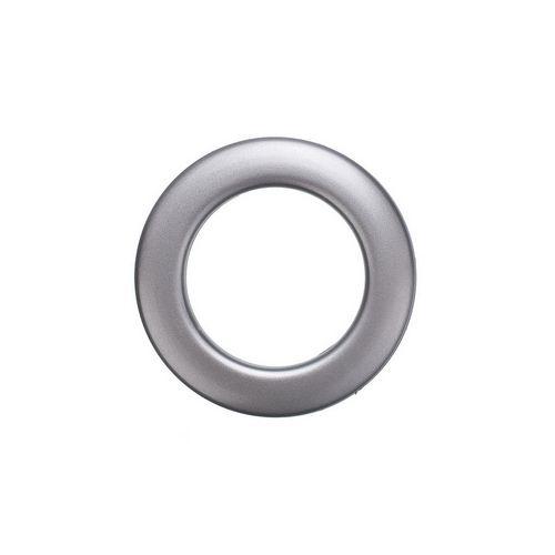 Люверс для штор графіт, 28 мм, круглий