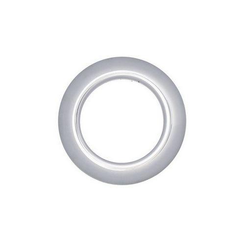 Люверс для штор хром, 28 мм, круглий