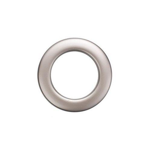 Люверс для штор платіна, 28 мм, круглий