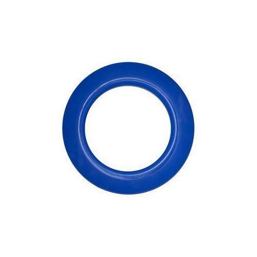 Люверс для штор синій, 28 мм, круглий