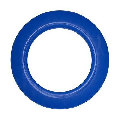 Люверс для штор синій, 35 мм, круглий