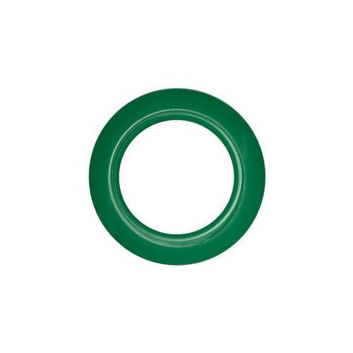 Люверс для штор зелений, 28 мм, круглий