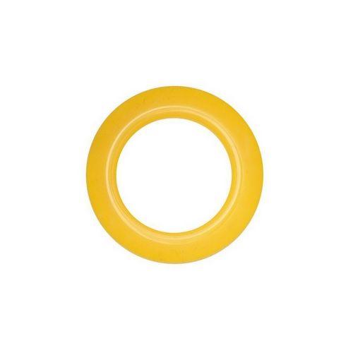 Люверс для штор жовтий, 28 мм, круглий