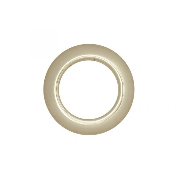 Люверс для штор золото, 28 мм, круглий