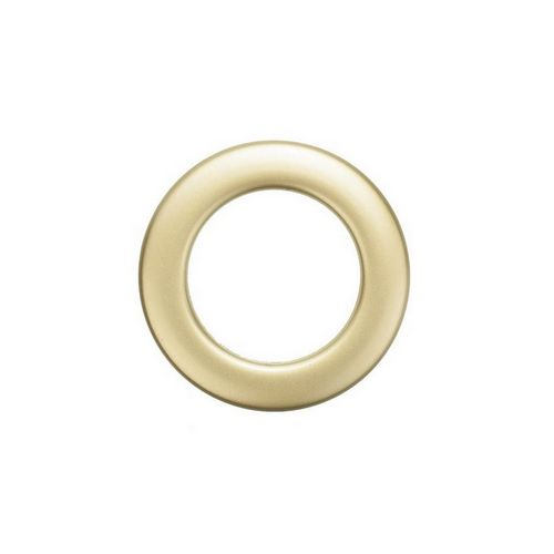 Люверс для штор золото матове, 28 мм, круглий